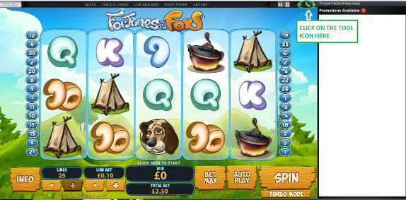 Betfair casino game