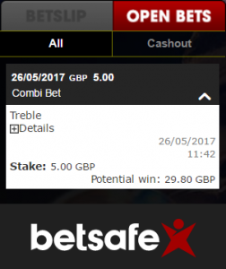 what is a treble bet example 3