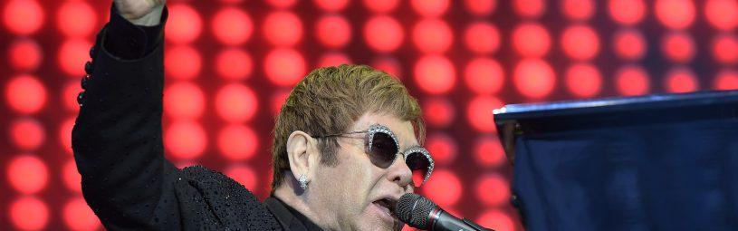 Elton John performing at Gröna Lund, Stockholm, Sweden, 2017-07-02