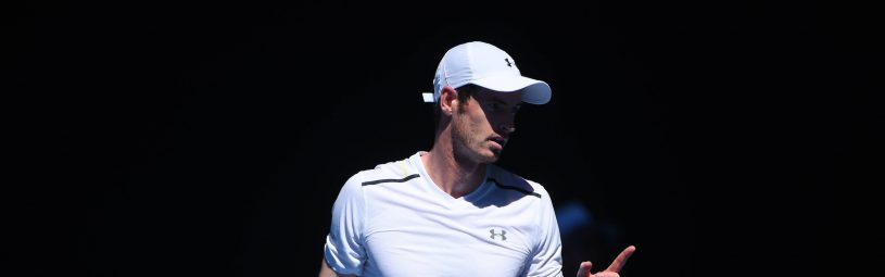 Andy Murray (GBR) during his fourth round match at the 2017 Australian Open at Melbourne Park in Melbourne, Australia, on January 22, 2017. Photo by Corinne Dubreuil/ABACAPRESS.COM
