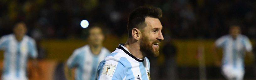 (SP)ECUADOR-QUITO-FIFA-2018 WORLD CUP-QUALIFIERS