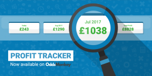 track matched betting profits example