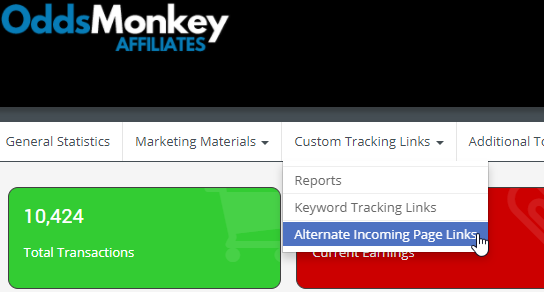 how to make affiliate links