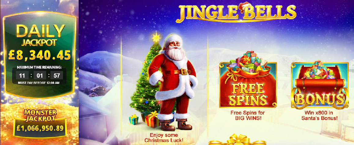 Jingle Bells casino game