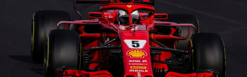 05 Sebastian Vettel from Germany with Scuderia Ferrari SF71H during day three of F1 Winter Testing at Circuit de Catalunya on March 8, 2018 in Montmelo, Spain.  (Photo by Xavier Bonilla/NurPhoto/Sipa USA)
