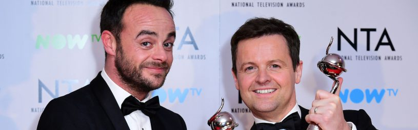 Anthony McPartlin and Declan Donnelly in the Press Room at the National Television Awards 2018 held at the O2 Arena, London.