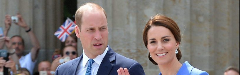 July 19, 2017 - Berlin, Germany - Prince William, Duchess Catherine .Prince William and Catherine Duchess of Cambridge at the Brandenburg Gate, Berlin, Germany - 19 Jul 2017.Credit: MichaelTimm/face to face (Credit Image: © face to face via ZUMA Press)