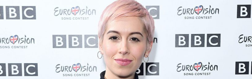 SuRie during Eurovision: You Decide - Meet The Artists, an introduction to this year's UK hopefuls, at BBC, New Broadcasting House in London.