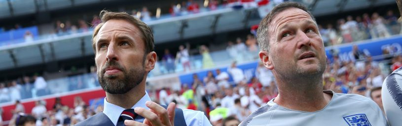 June 24, 2018 - Nizhniy Novgorod, Russia - Group G England v Panama - FIFA World Cup Russia 2018.England coach Gareth Southgate at Nizhny Novgorod Stadium, Russia on June 24, 2018. (Credit Image: © Matteo Ciambelli/NurPhoto via ZUMA Press)