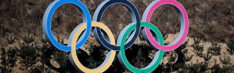 February 5, 2018 - Pyeongchang, SOUTH KOREA - 180205 Olympic Rings at the shooting range of Alpensia Biathlon Centre ahead of the 2018 Winter Olympics on February 5, 2018 in Pyeongchang..Photo: Jon Olav Nesvold / BILDBYRN / kod JE / 160137 (Credit Image: © Jon Olav Nesvold/Bildbyran via ZUMA Press)