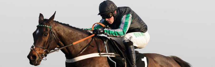 Altior ridden by Nico de Boinville jumps the last on the way to winning The Unibet Desert Orchid Chase during day two of 32Red Winter Festival at Kempton Park Racecourse.