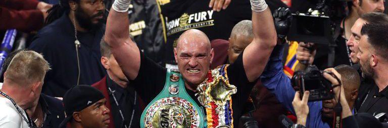 Tyson Fury win