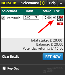 E/w meaning betting how to read sports betting money lines